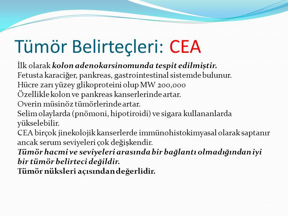 Tümör Belirteçleri: CEA