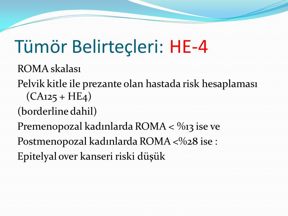 Tümör Belirteçleri: HE-4