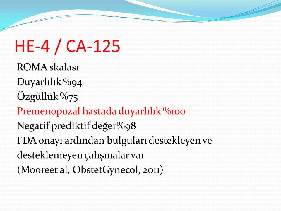 HE-4 / CA-125