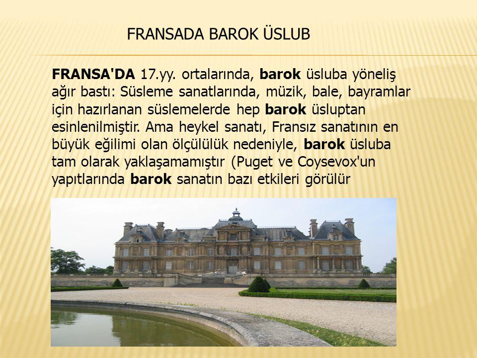 FRANSADA BAROK ÜSLUB