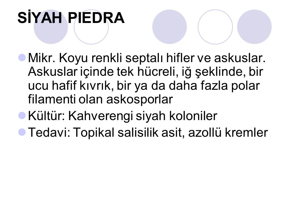 SİYAH PIEDRA