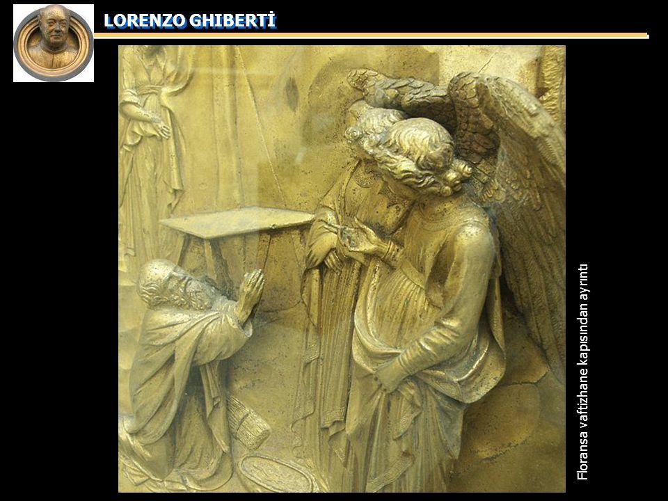 Floransa vaftizhane kapısından ayrıntı
