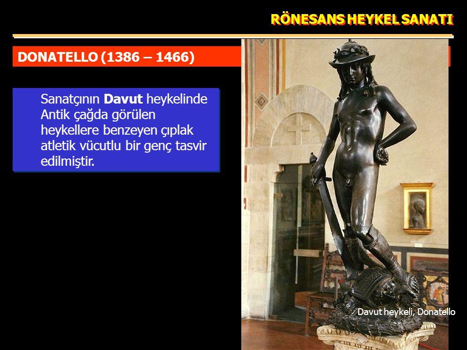 Davut heykeli, Donatello