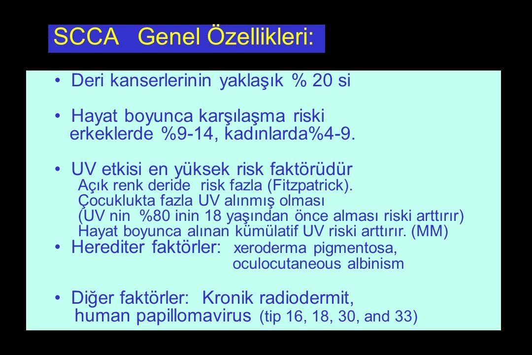 SCCA Genel Özellikleri: