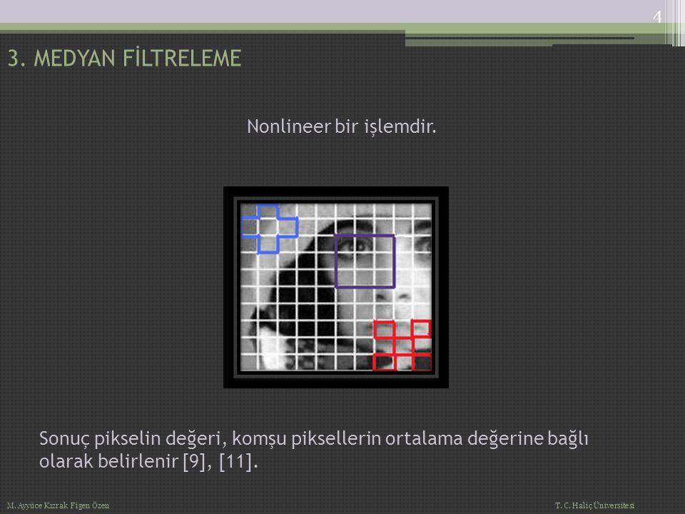 Nonlineer bir işlemdir.