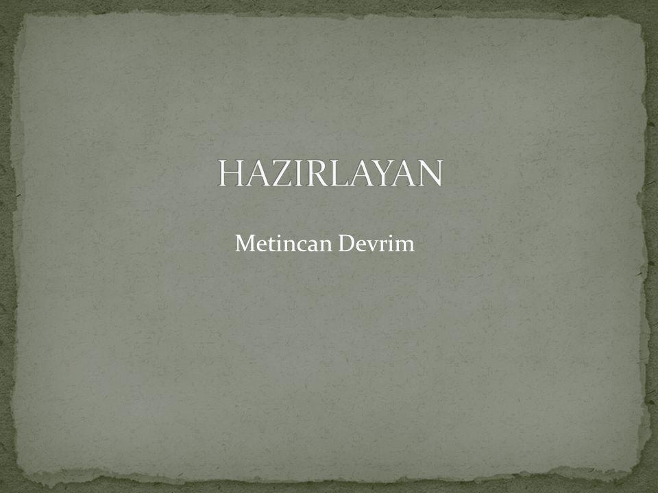 HAZIRLAYAN Metincan Devrim