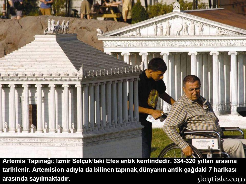 Artemis Tapınağı: İzmir Selçuk'taki Efes antik kentindedir