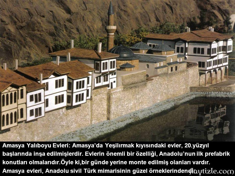 Amasya Yalıboyu Evleri: Amasya'da Yeşilırmak kıyısındaki evler, 20