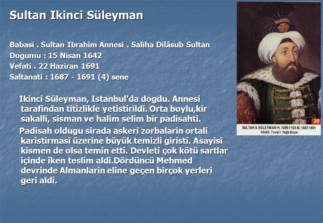 Sultan Ikinci Süleyman