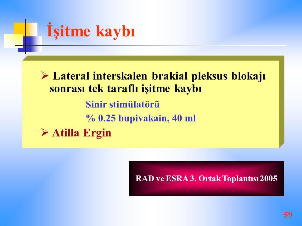 RAD ve ESRA 3. Ortak Toplantısı 2005