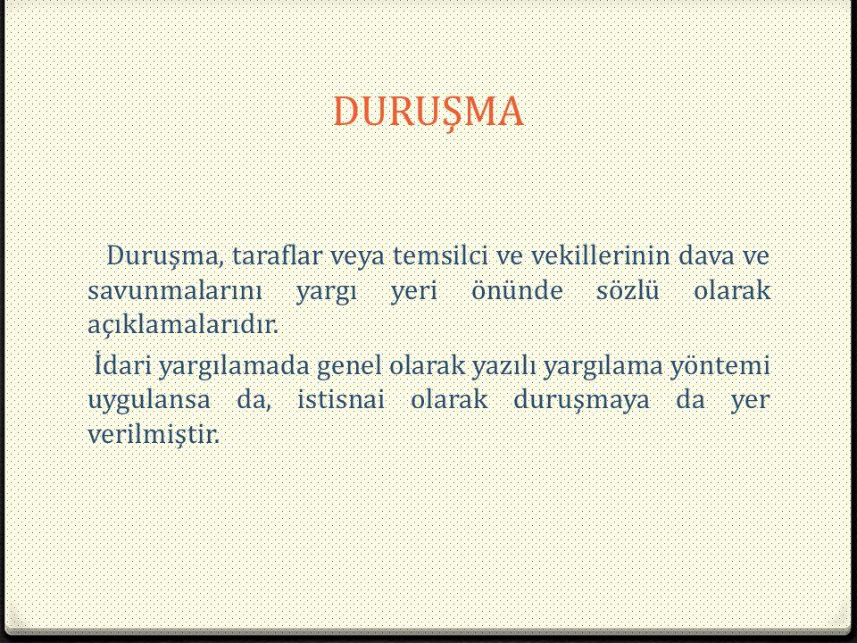DURUŞMA