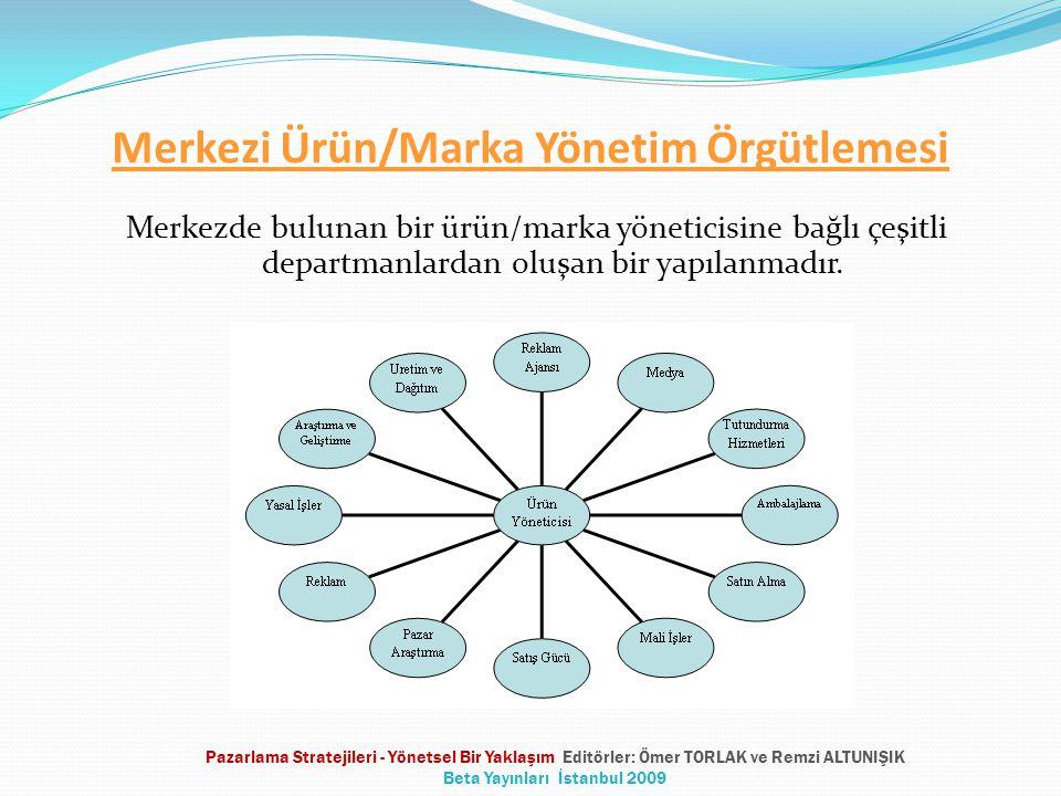Merkezi Ürün/Marka Yönetim Örgütlemesi