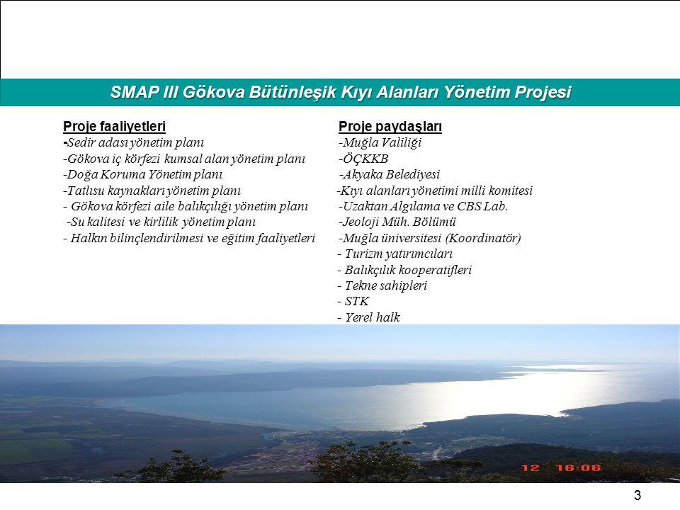 SMAP III Gökova Bütünleşik Kıyı Alanları Yönetim Projesi