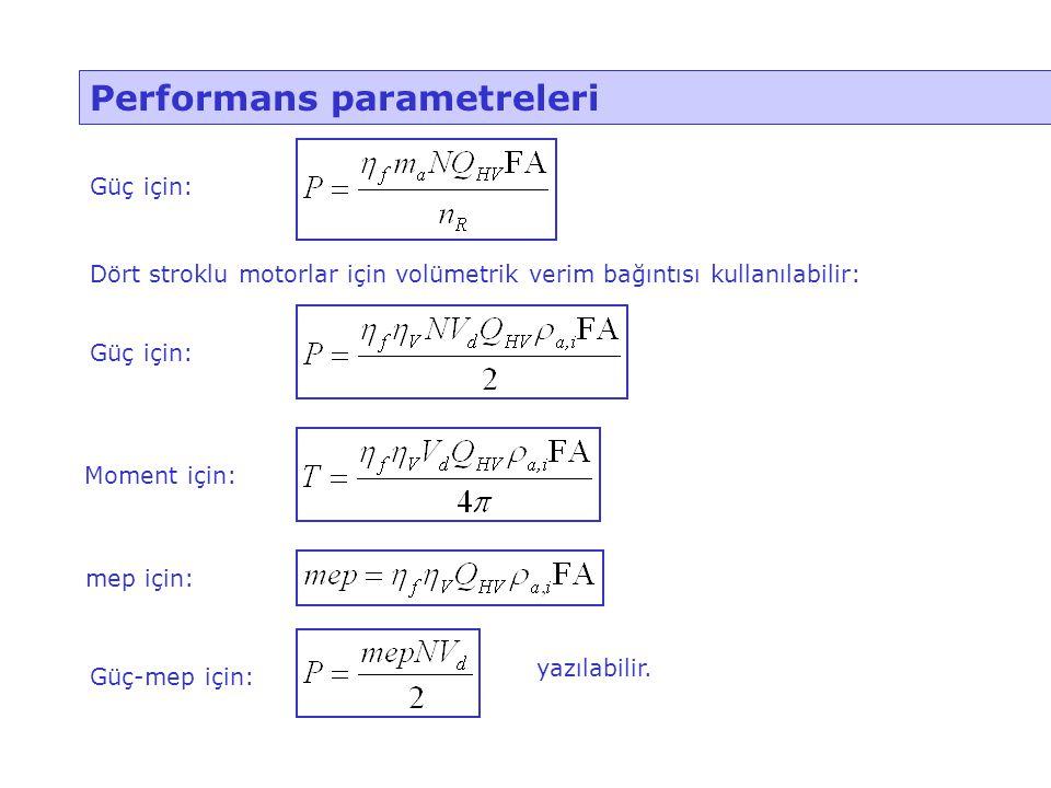 Performans parametreleri