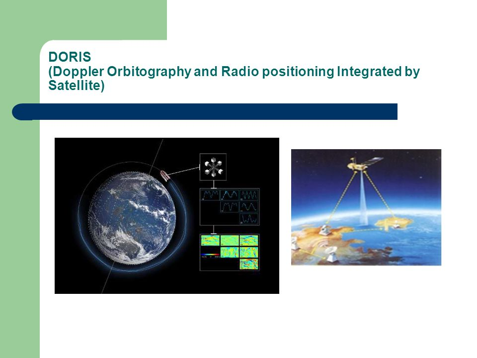 DORIS (Doppler Orbitography and Radio positioning Integrated by Satellite)