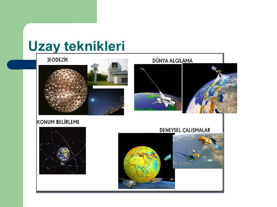 Uzay teknikleri