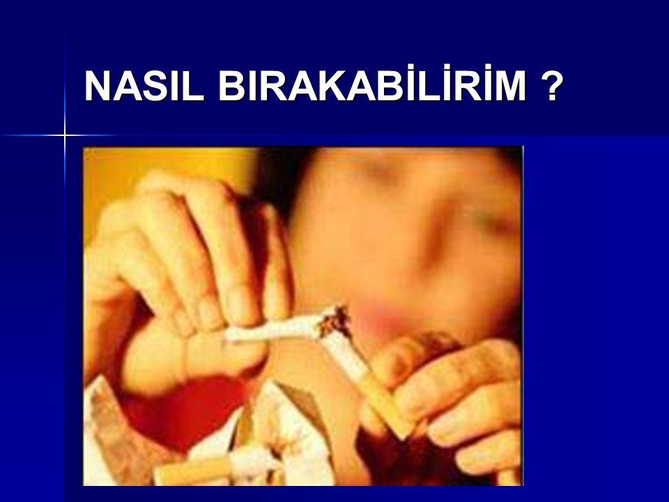 NASIL BIRAKABİLİRİM