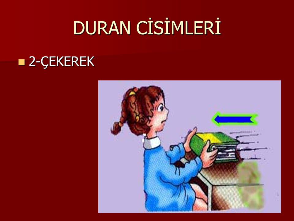 DURAN CİSİMLERİ 2-ÇEKEREK