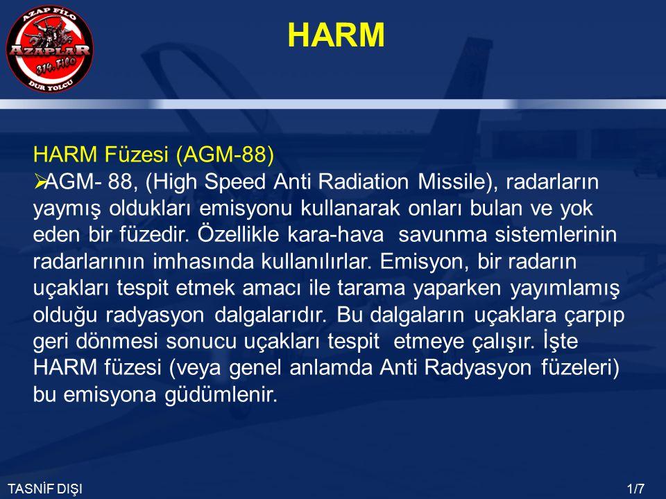HARM Füzesi (AGM-88)