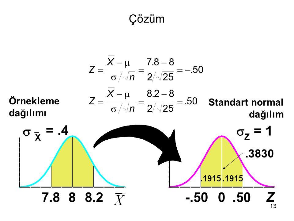 Çözüm X.   7. . 8.  8. Z.     . 50.  n. 2. 25. X.   8. . 2.  8.