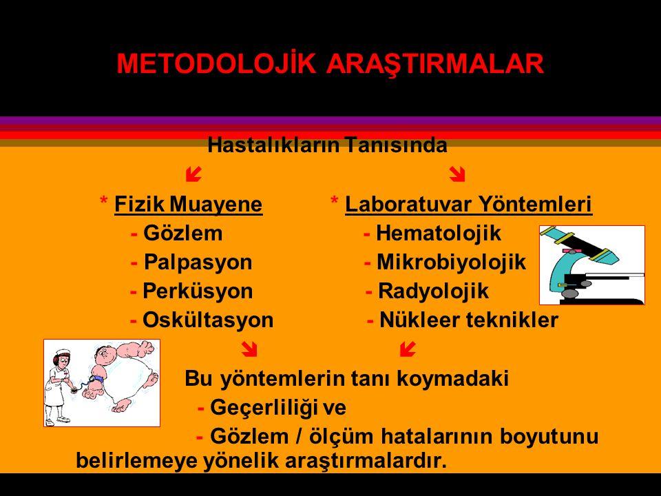 METODOLOJİK ARAŞTIRMALAR
