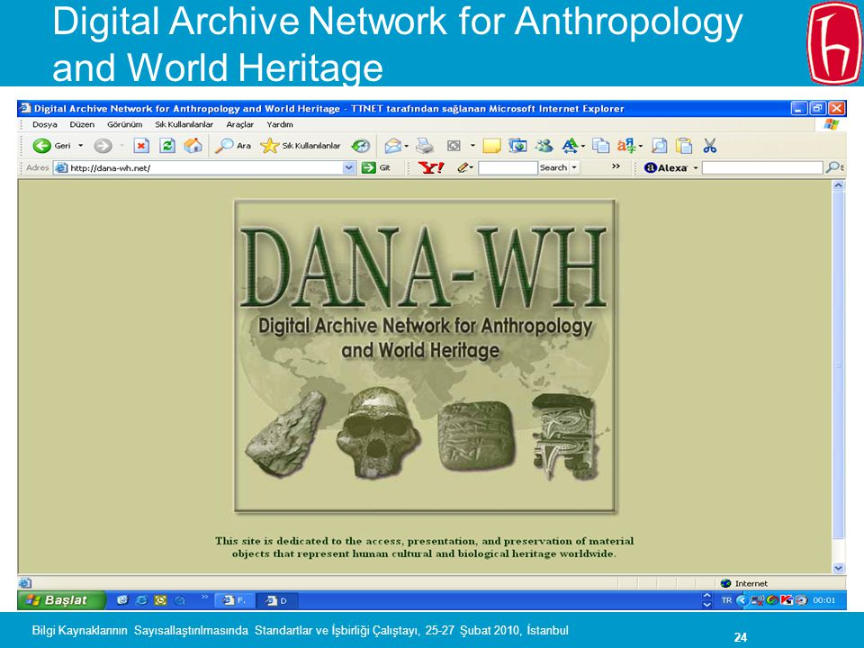 Digital Archive Network for Anthropology and World Heritage