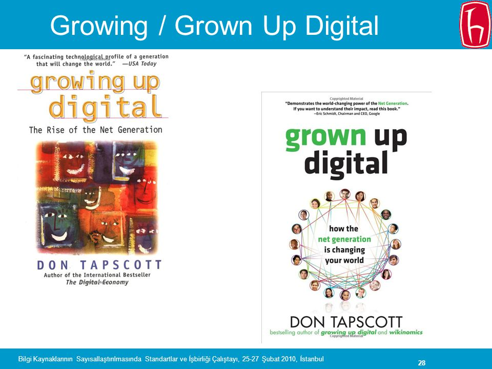 Growing / Grown Up Digital