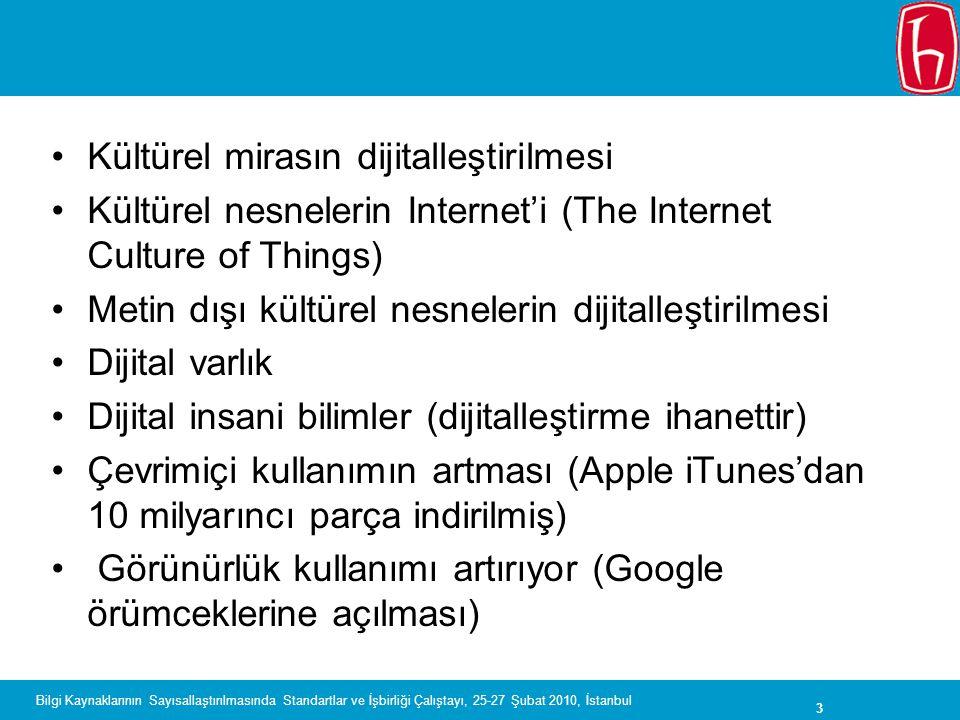 Kültürel mirasın dijitalleştirilmesi