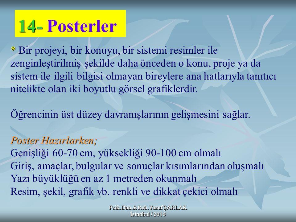 14- Posterler