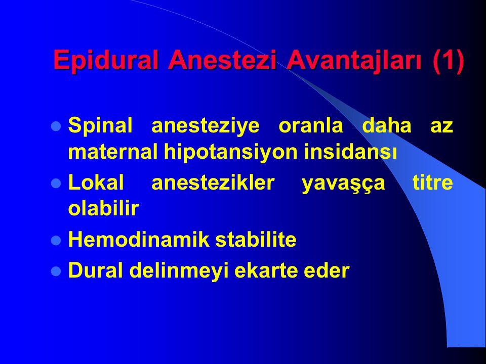 Epidural Anestezi Avantajları (1)