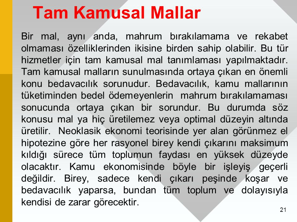 Tam Kamusal Mallar