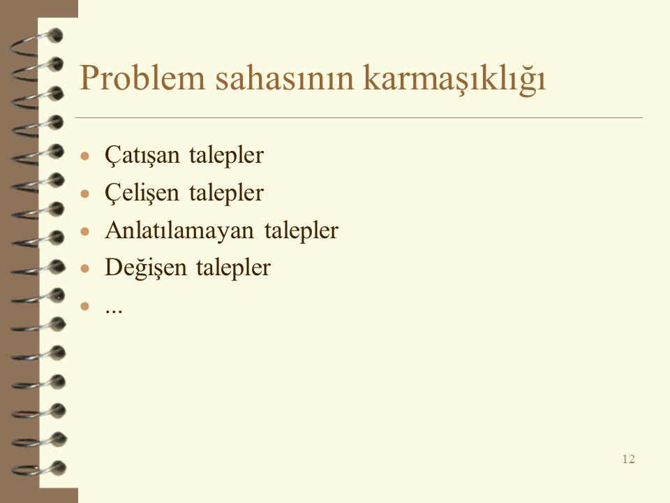 Problem sahasının karmaşıklığı