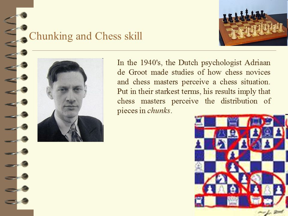Chunking and Chess skill