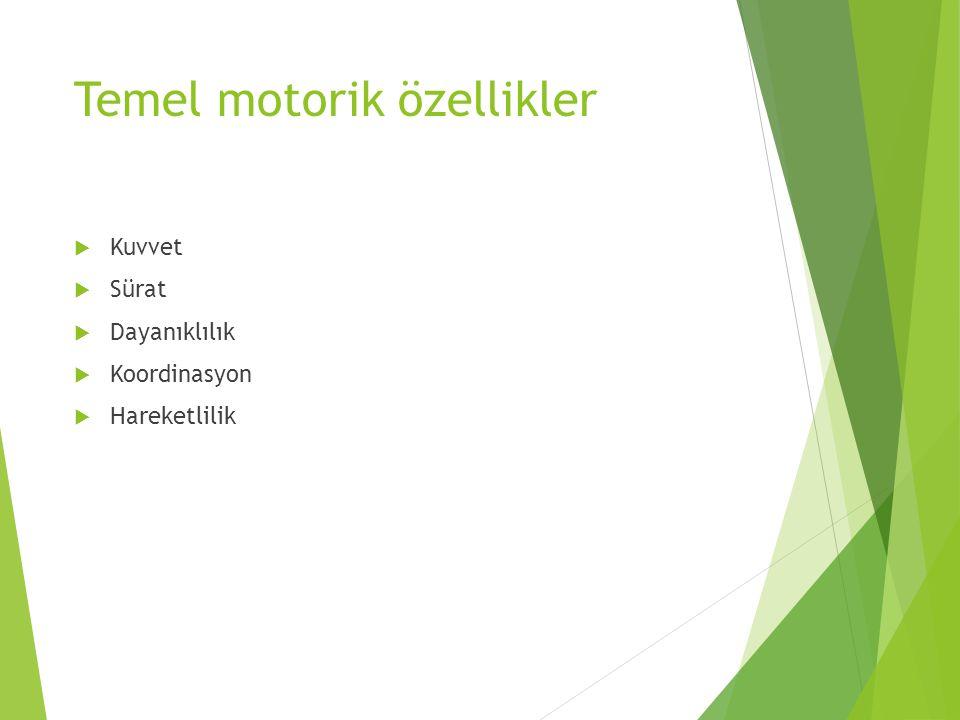 Temel motorik özellikler