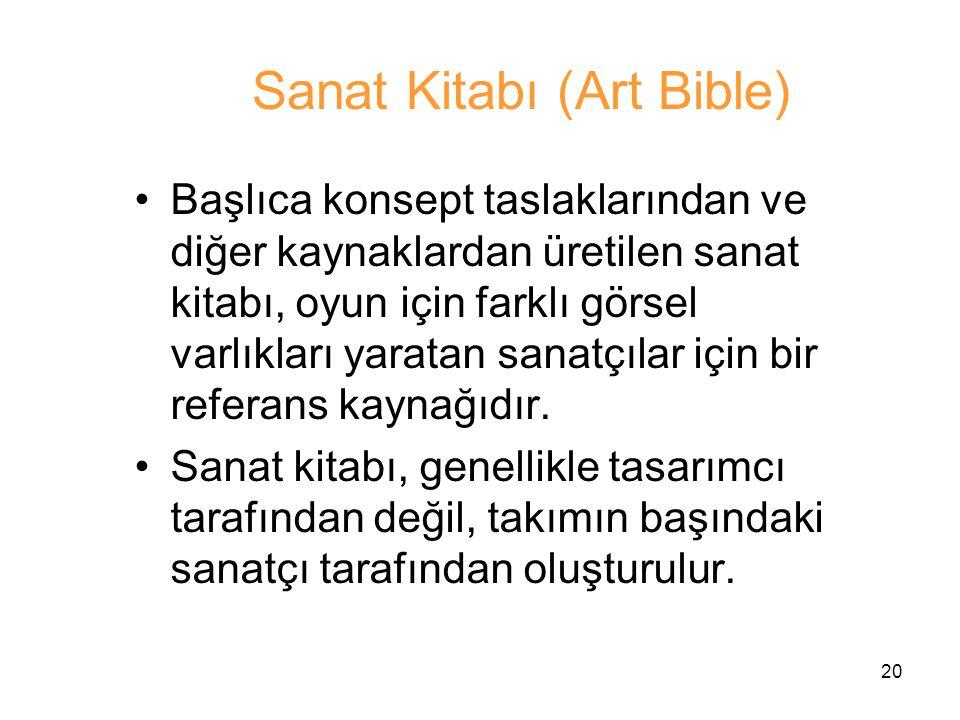 Sanat Kitabı (Art Bible)