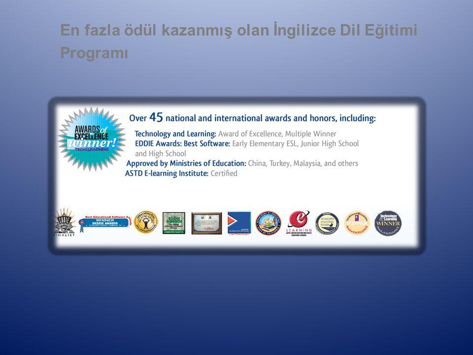 En fazla ödül kazanmış olan İngilizce Dil Eğitimi Programı