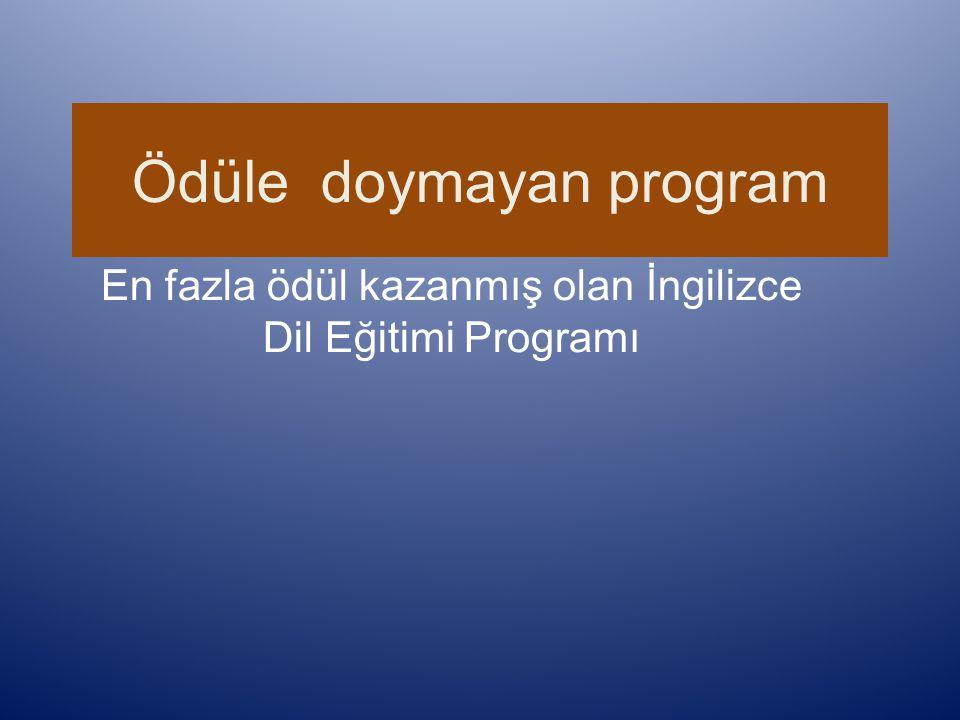 Ödüle doymayan program