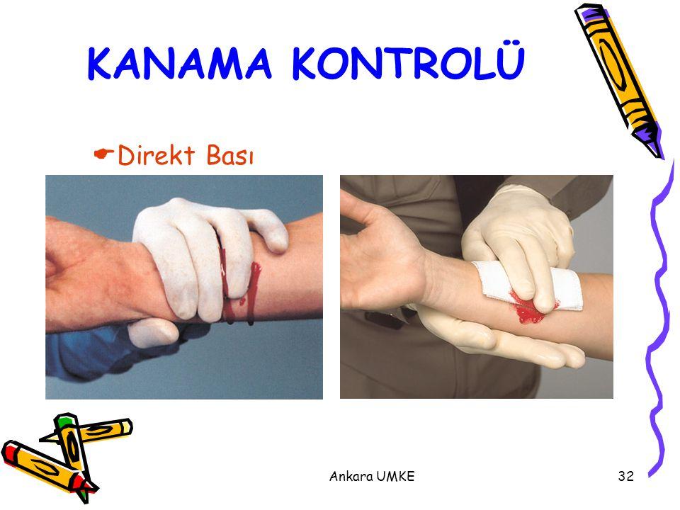 KANAMA KONTROLÜ Direkt Bası Ankara UMKE