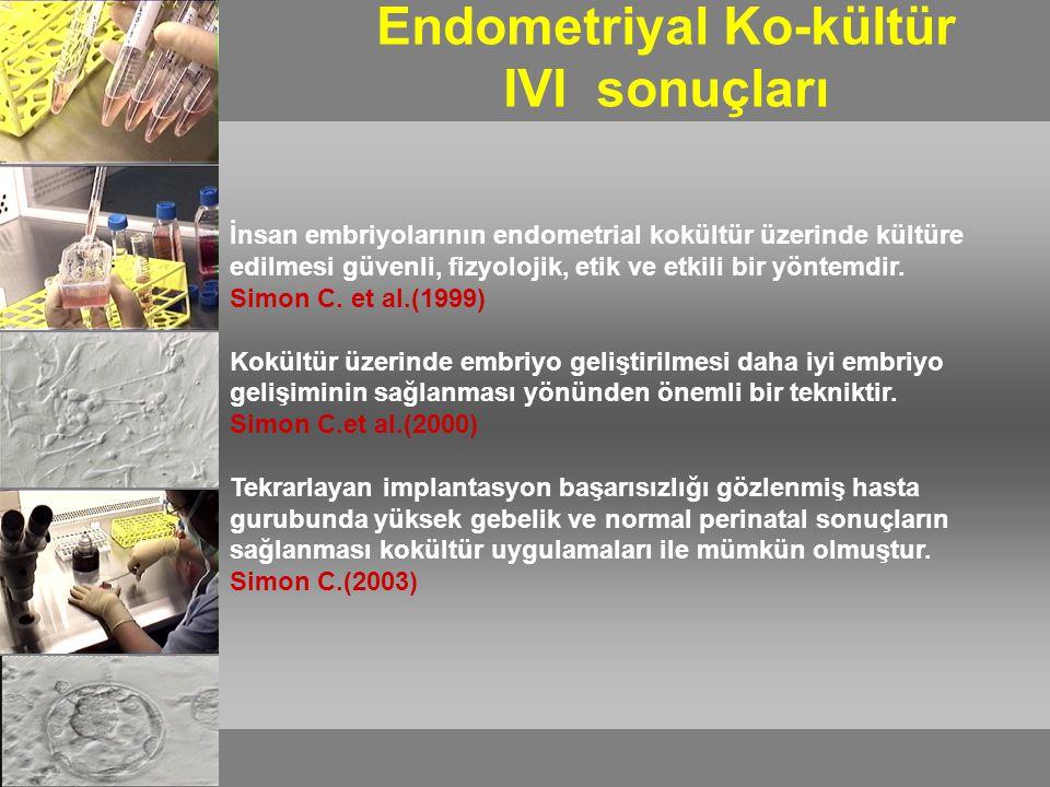Endometriyal Ko-kültür IVI sonuçları