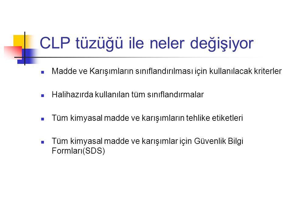 CLP tüzüğü ile neler değişiyor