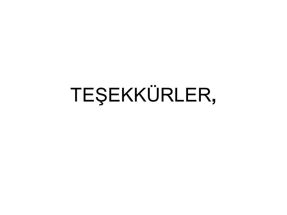 TEŞEKKÜRLER,