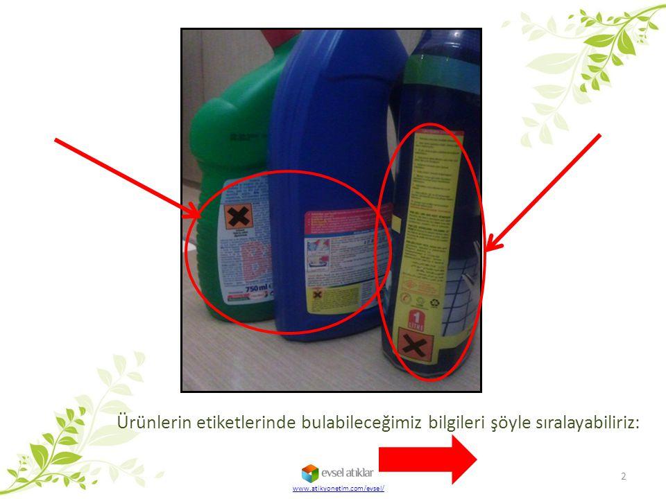 Ürünlerin etiketlerinde bulabileceğimiz bilgileri şöyle sıralayabiliriz: