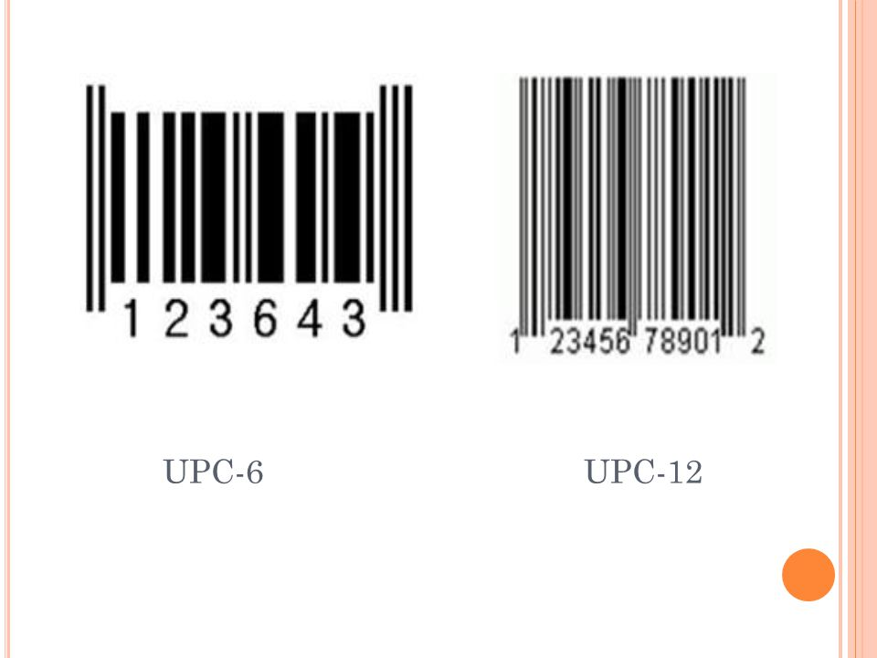UPC-6 UPC-12