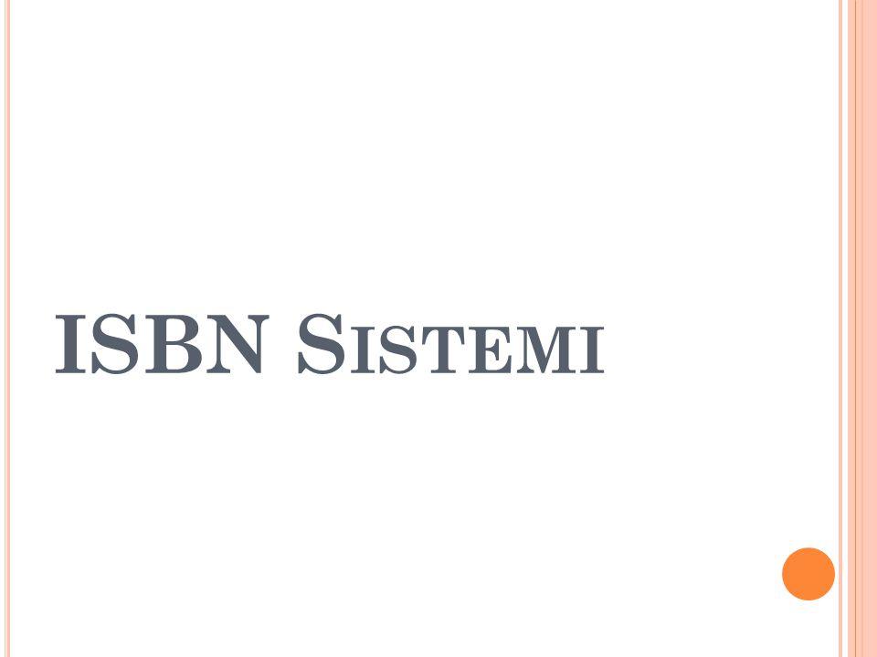 ISBN Sistemi