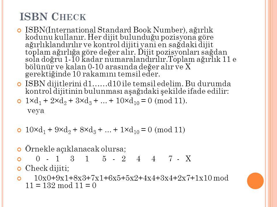 ISBN Check