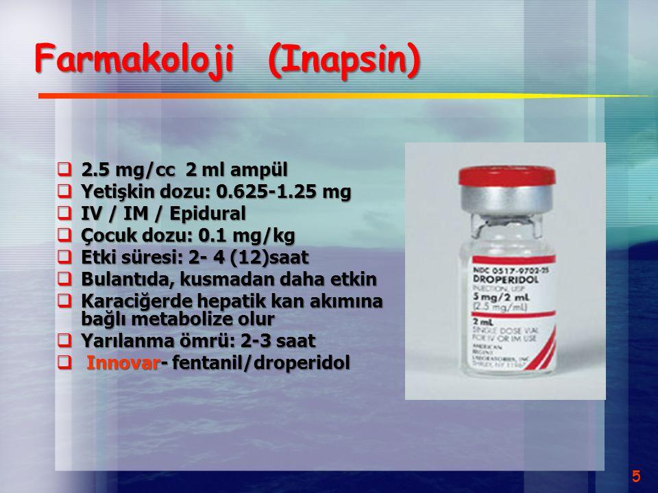 Farmakoloji (Inapsin)