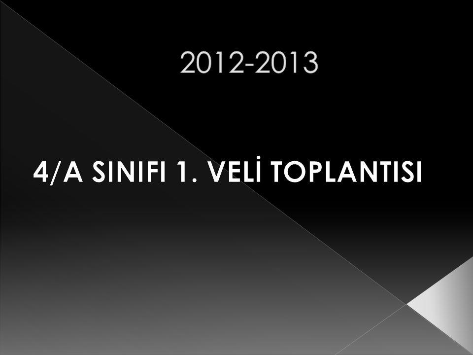 4/A SINIFI 1. VELİ TOPLANTISI