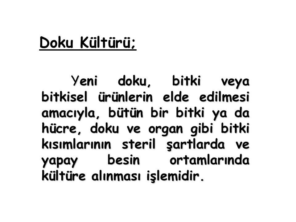 Doku Kültürü;