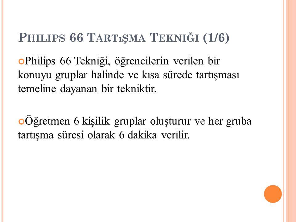 Philips 66 Tartışma Tekniği (1/6)