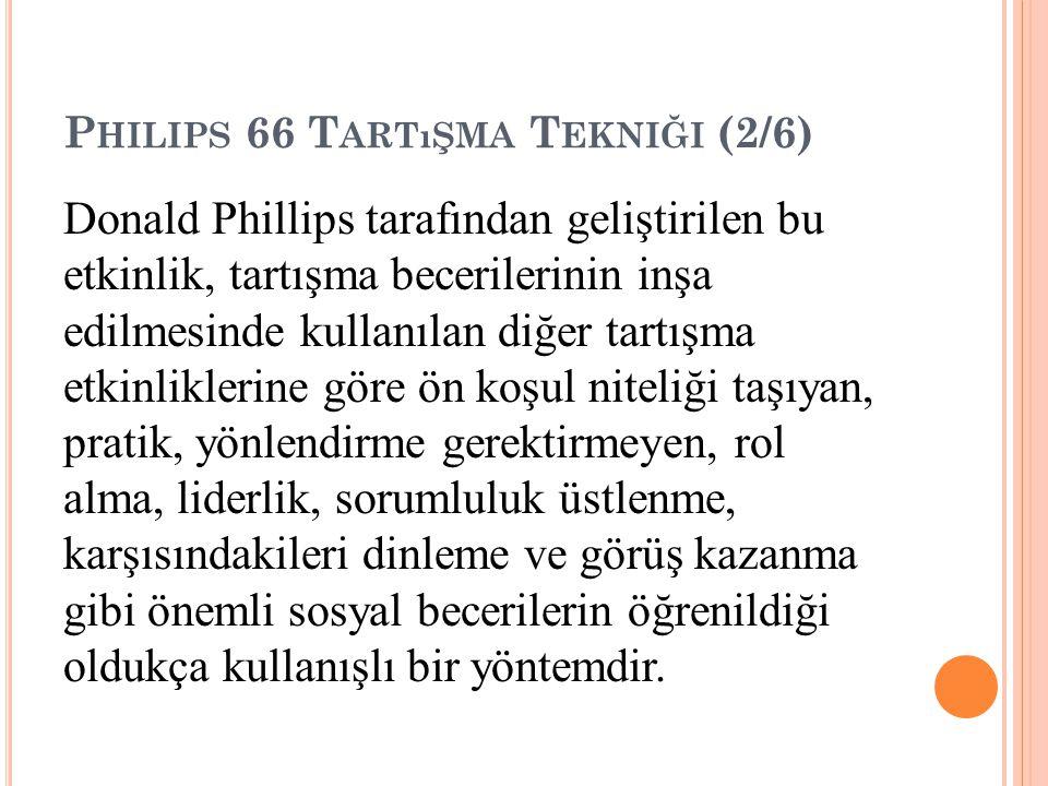 Philips 66 Tartışma Tekniği (2/6)